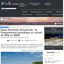 Seine-Maritime Attractivité : la fréquentation touristique en retrait de 25% en 2020