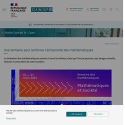 Une semaine pour renforcer l'attractivité des mathématiques - Réseau Canopé