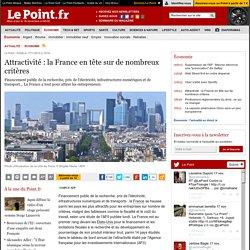 Attractivité : la France en tête sur de nombreux critères