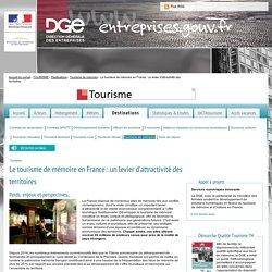 Le tourisme de mémoire en France : un levier d'attractivité des territoires