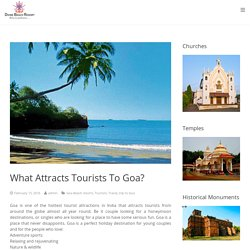 Best Resort In Goa For Tourism