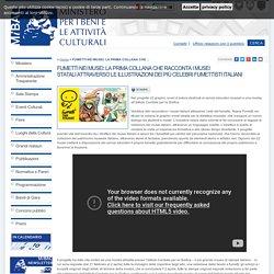 FUMETTI NEI MUSEI: LA PRIMA COLLANA CHE RACCONTA I MUSEI STATALI ATTRAVERSO LE ILLUSTRAZIONI DEI PIÙ CELEBRI FUMETTISTI ITALIANI