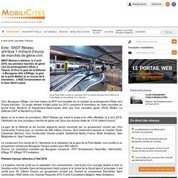 Eole : SNCF Réseau attribue 1 milliard d'euros de marchés de génie civil