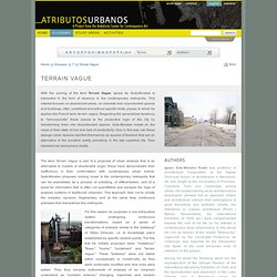 Urban Attributes - Andalusia Center for Contemporary Art