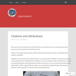 Citations and Attributions – openalexis