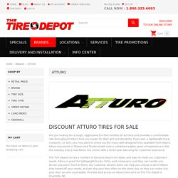 Atturo Tires For Sale