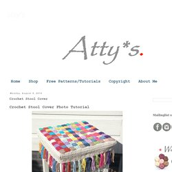 atty's: Crochet Stool Cover