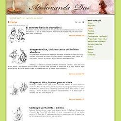 Atulananda Das - Libros