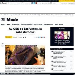 Au CES de Las Vegas, la robe du futur