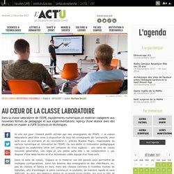 La classe laboratoire de l'Espe de Franche-Comté