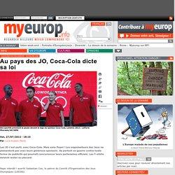 Au pays des JO, Coca-Cola dicte sa loi