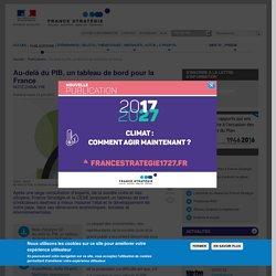 Au-delà du PIB, un tableau de bord pour la France