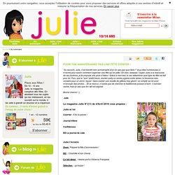 Julie - janvier 2016