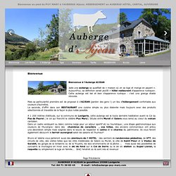 Auberge d'Aijean ,Puy Mary (Cantal)