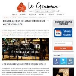 L'Auberge du Roi Gradlon, un bon restaurant breton à Paris