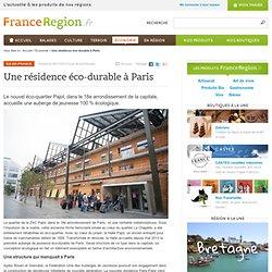 Une auberge de jeunesse éco-durable à Paris
