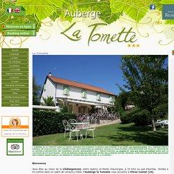 Auberge de La Tomette, Relais du silence, VItrac, Sud Cantal