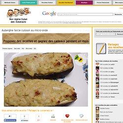 Aubergine farcie cuisson au micro-onde, recette Dukan PL par laeti10