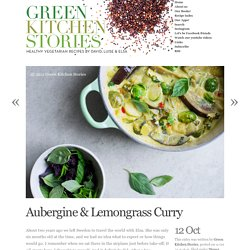 Aubergine & Lemongrass Curry
