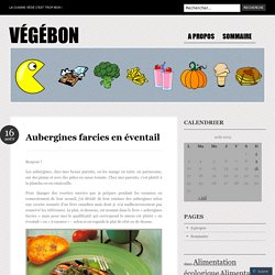 Aubergines farcies en éventail ~ tomate, mozzarella
