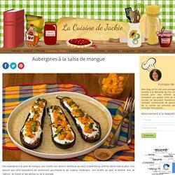 Aubergines à la salsa de mangue