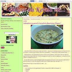 Aubergines au yaourt et prochain départ pour Prague ! - Délices du Kerala...