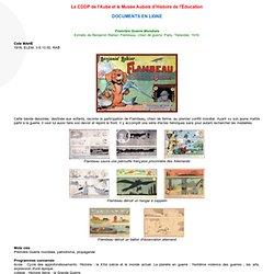 Flambeau _ CDDP de l'Aube et le Musée Aubois d'Histoire de l'Education