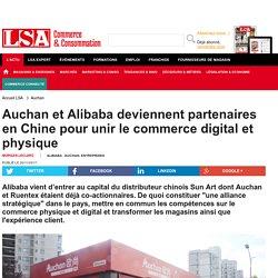 Auchan s'allie à Alibaba pour digitaliser ses...