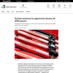 Auchan annonce la suppression de plus de 1000 postes