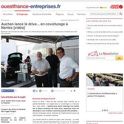 Auchan lance le drive... en covoiturage à Nantes [vidéo]