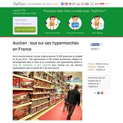 Auchan : des hypermarchés qui dominent la France