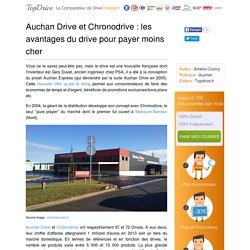 Auchan invente le drive pour économiser de l'argent et du temps !