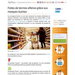 Auchan : quelles sont ses marques de distribution (MDD)?