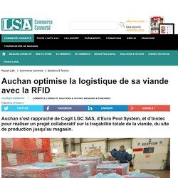 LSA 27/04/15 Auchan optimise la logistique de sa viande avec la RFID