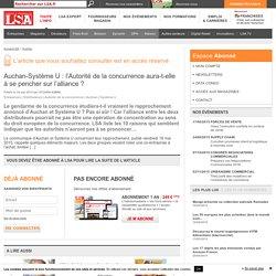 Auchan-Système U : l'Autorité de la...