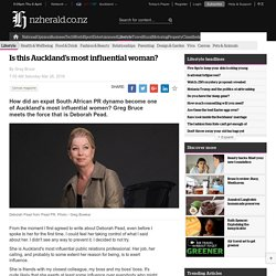 Article: Is this Auckland's most influential woman?