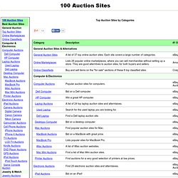 100 Best Auction Sites in 20 Categories - Top Online Auction Websites