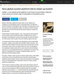 New Global Auction Platform Bid To Shake Up Market