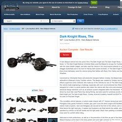 547 - Live Auction 2016 - Hero Batpod Vehicle