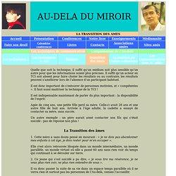 La transition des âmes - audeladumiroir.fr