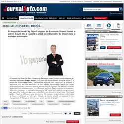Audi au chevet du Diesel