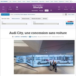 Audi City, une concession sans voiture