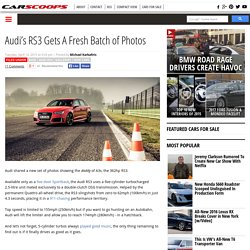 Audi's RS3 Gets A Fresh Batch of Photos