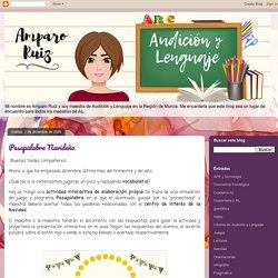 Pasapalabra Navideño - Audición y Lenguaje con Amparo Ruiz