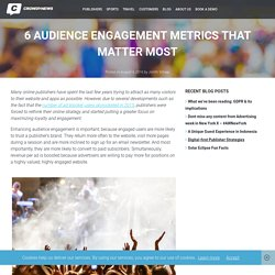 What is Audience Engagement and how do You Measure it?