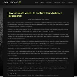 How to Create Videos to Capture Your Audience