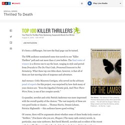 Audience Picks: Top 100 'Killer Thrillers'