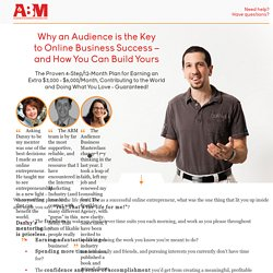 Audience Business Masterclass