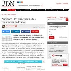 Audience : les principaux sites ecommerce en France - JDN