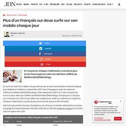 Audience mobile en France: Twitter à la baisse en décembre